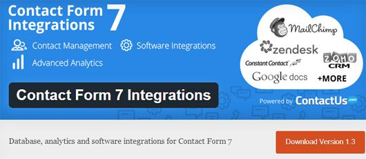 Contact Form 7 Integrations
