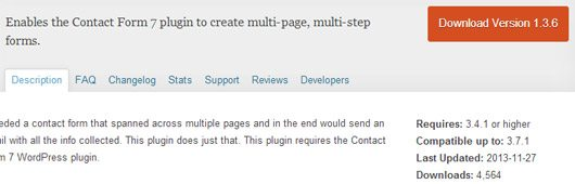 Create a multi-steps forms