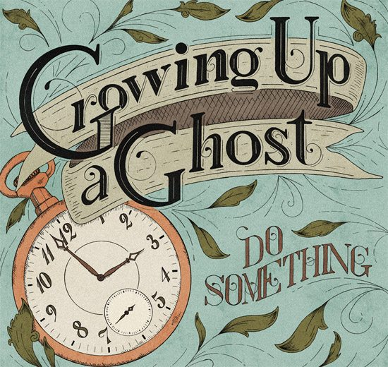 Growing Up a Ghost Album Art by Moegly Design