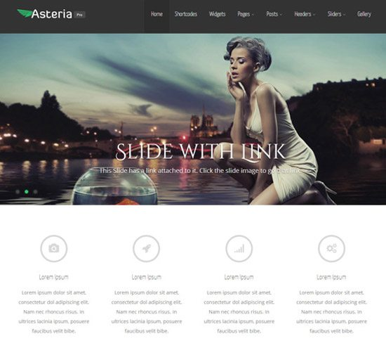Asteria Free WordPress Theme by Towfiq I.