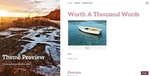 Bushwick - blogging wordpress theme