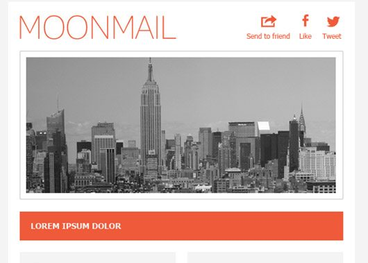 HTML & PSD Email Template by Tarah S