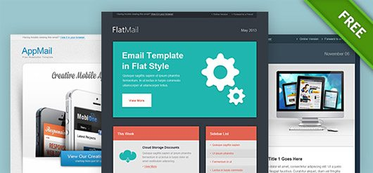 This is a set of another refined and neatly-crafted newsletter psd templates