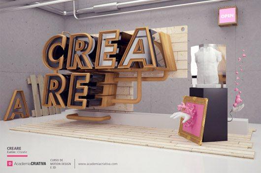 Creare - Academia Criativa by Dimitri Bastos