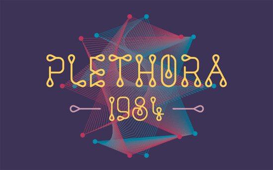 Plethora 1984 Font