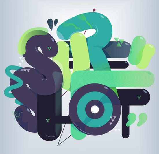 Flow Typo by Samuel Sinaga