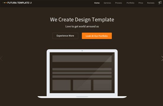 Futura Template by Dimple Bhavsar