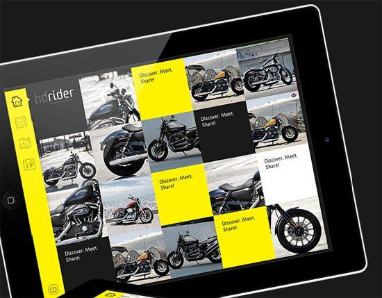 hdrider, app & web
