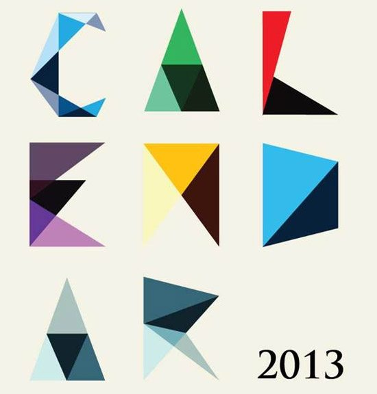 Calendar 2013 by Jing Tan