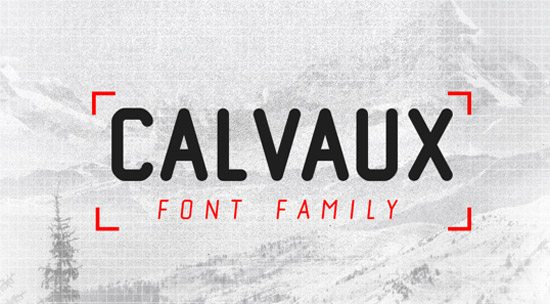 Calvaux Font by Ryan Welch