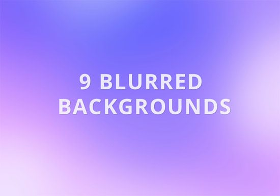 9 Free Blurred Backgrounds by Emelyn