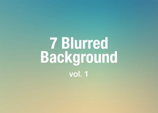 7 Blurred Background vol.1