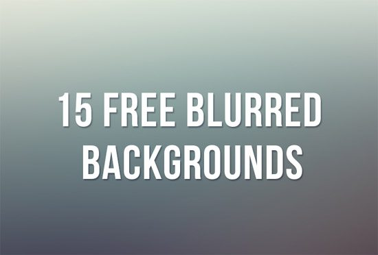 15 Free Blurred Backgrounds by Raquel Román Parrado
