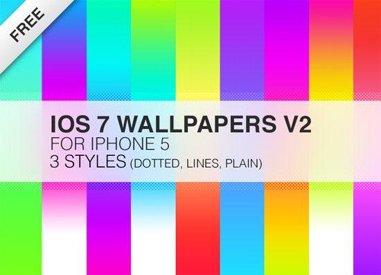 iOS 7 Wallpaper v2 by Jan Semler