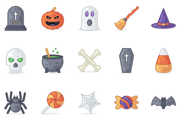 Best Free Halloween Icons to Try in 2018
