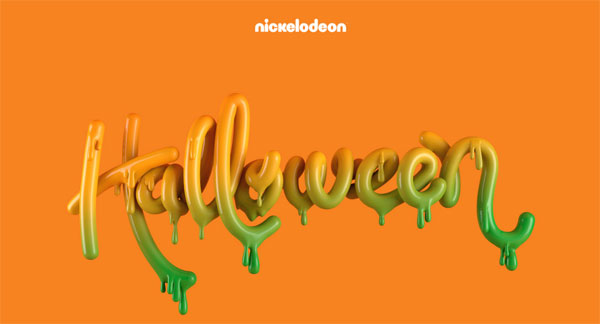 Creative Halloween Typography