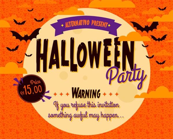 Creative Halloween Typography